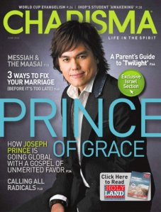 Joseph Prince appeared in Charisma magazine