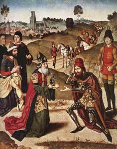 Abram bertemu dengan Melchisedek