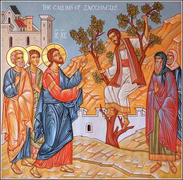 Zaachaeus meets Jesus